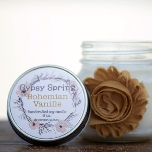 Bohemian Vanille Soy Candle