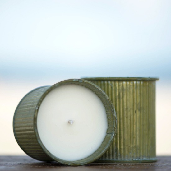 Soy Candles in Tin Containers