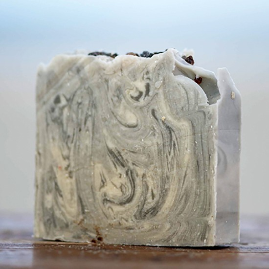 White Sage and Charcoal Goat Milk Soap