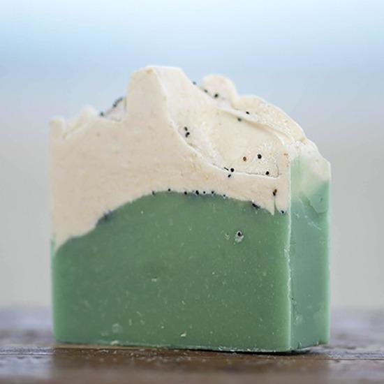 Lemongrass and Poppyseed Goat Milk Soap